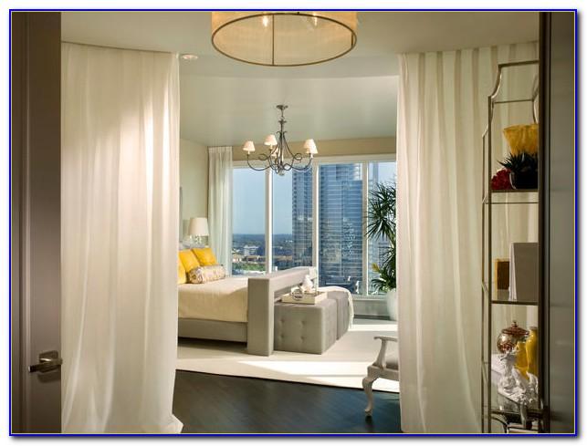 Bedroom Bay Window Treatment Ideas