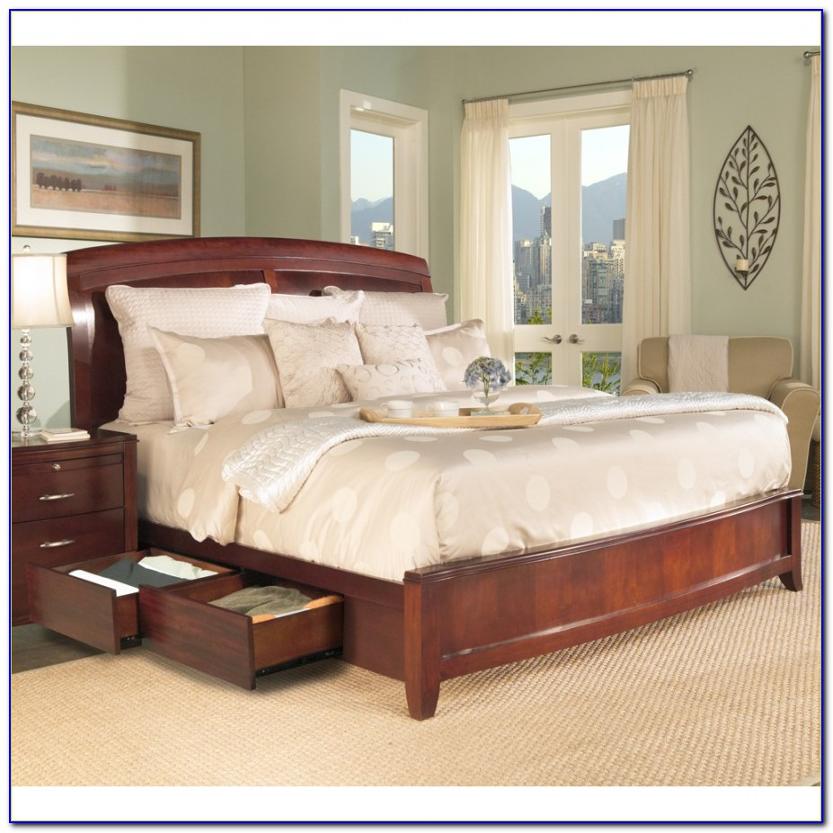Bedroom Set With Storage Drawers