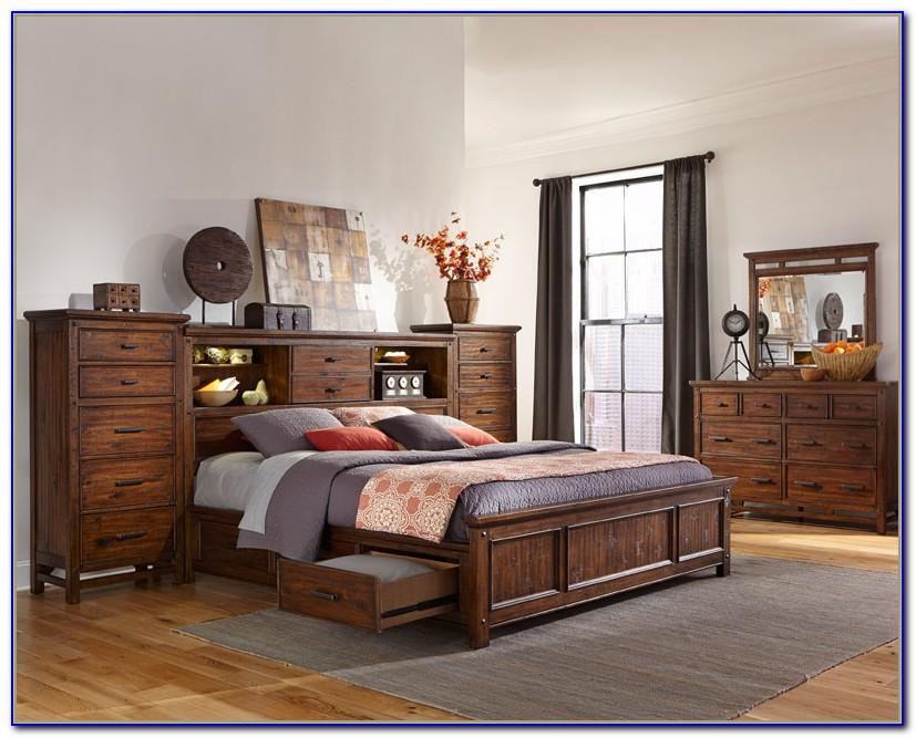 Bedroom Set With Storage Underneath