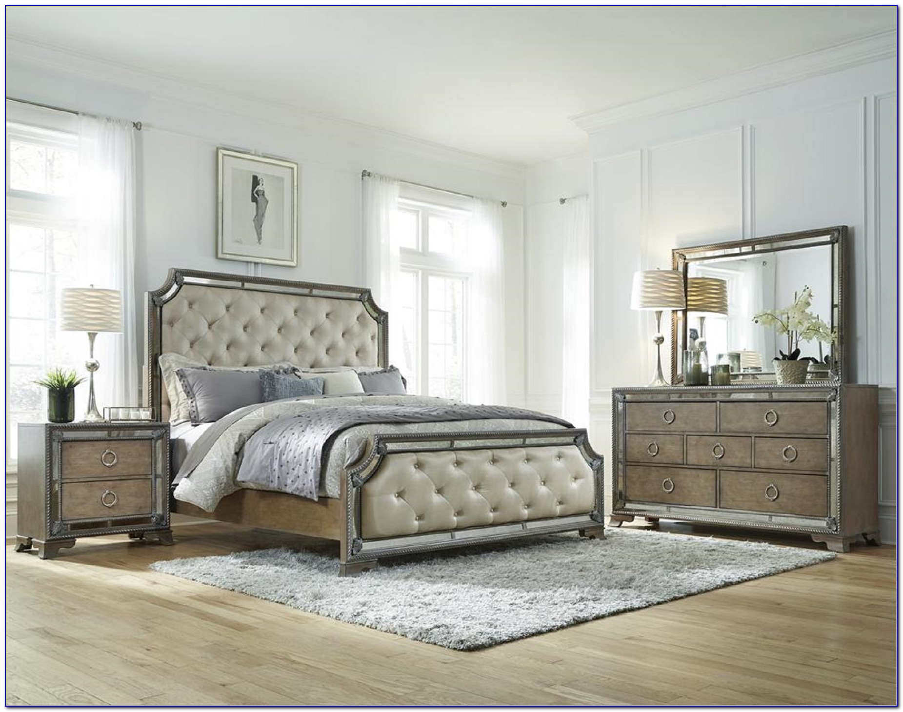 Bedroom Sets With Mirrors