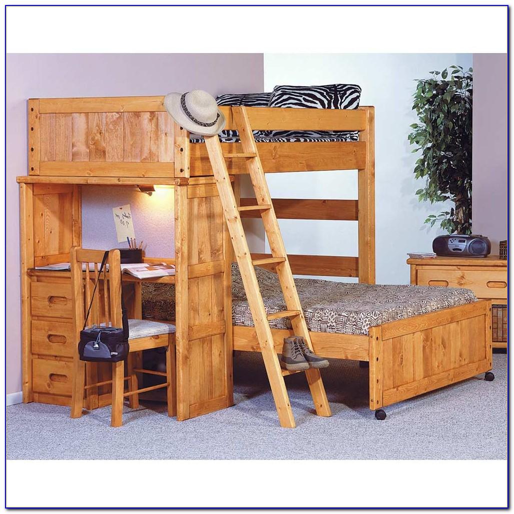 Black Bedroom Set With Desk