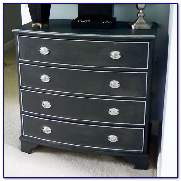 Black Chalk Paint Bedroom Furniture