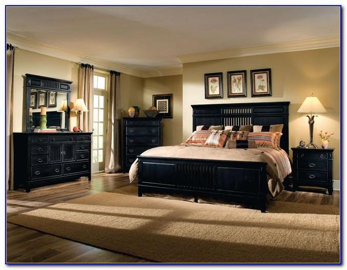 Black Furniture Bedroom Designs