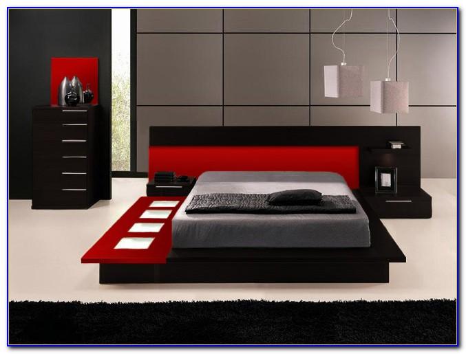 Black Modern Bedroom Furniture