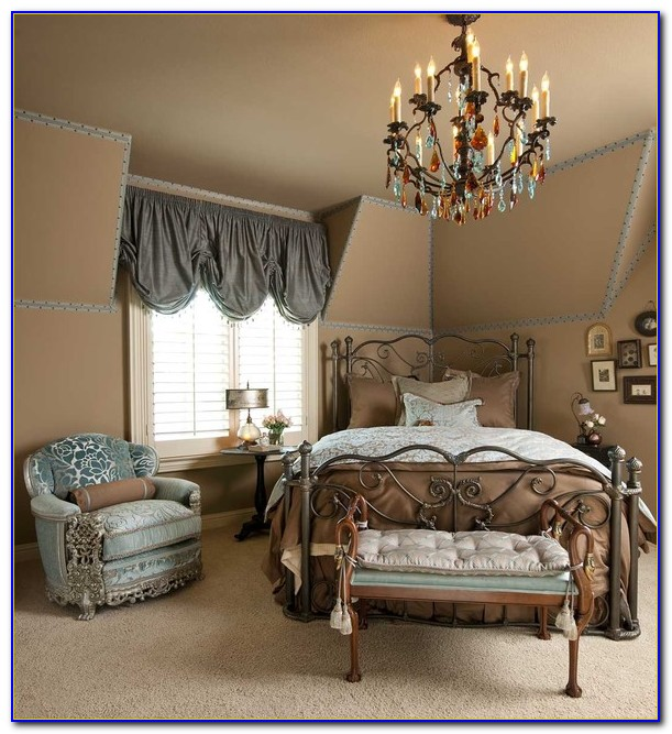 Blue And Beige Bedrooms