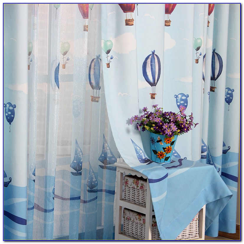 Blue Curtains For Boys Bedroom