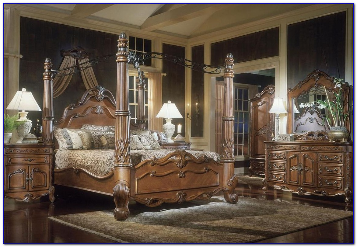 Canopy King Size Bedroom Sets