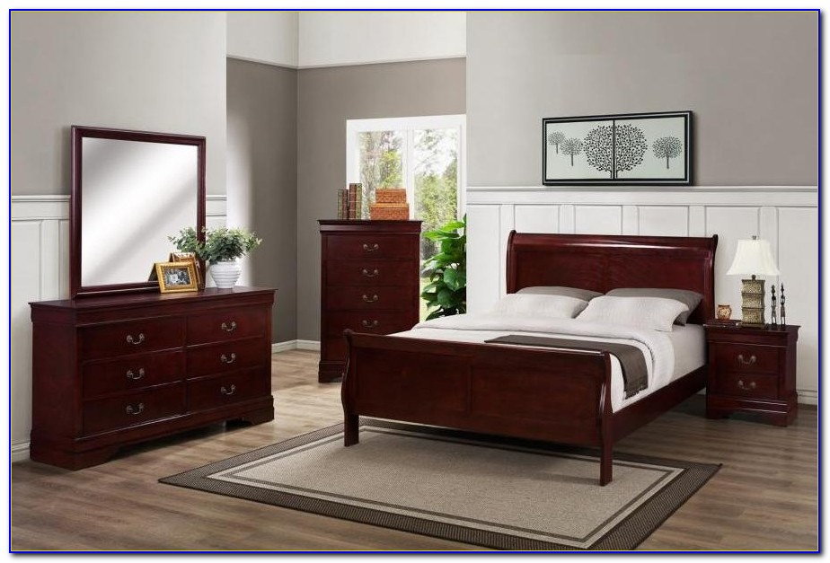 Cherry Wood Bedroom Furniture Sets