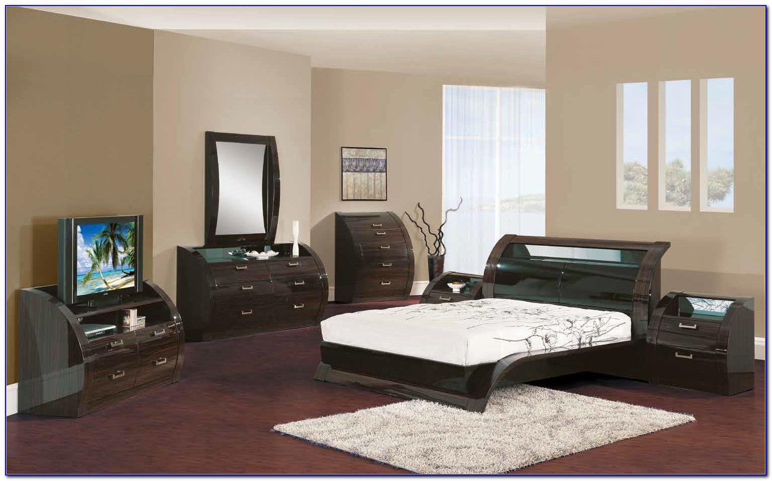 Contemporary California King Bedroom Sets