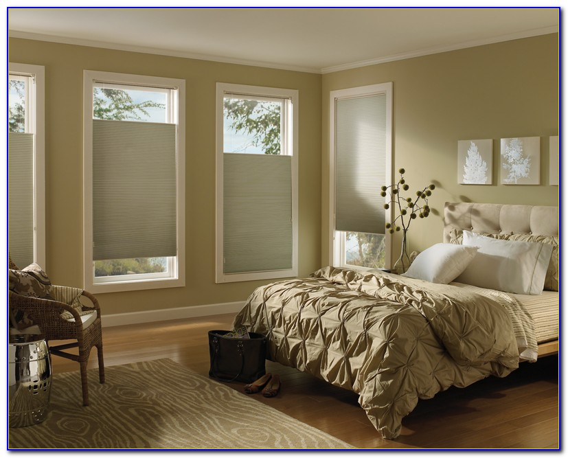 Corner Bedroom Window Treatment Ideas