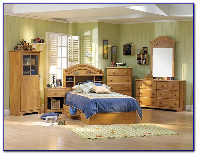 Country Style King Size Bedroom Sets