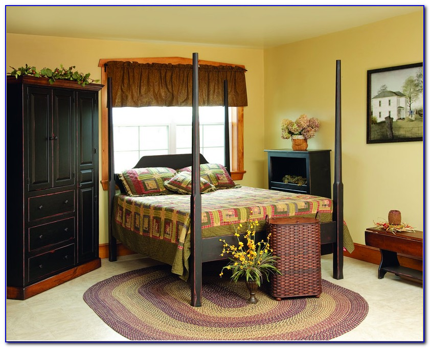 Country Style Queen Bedroom Sets