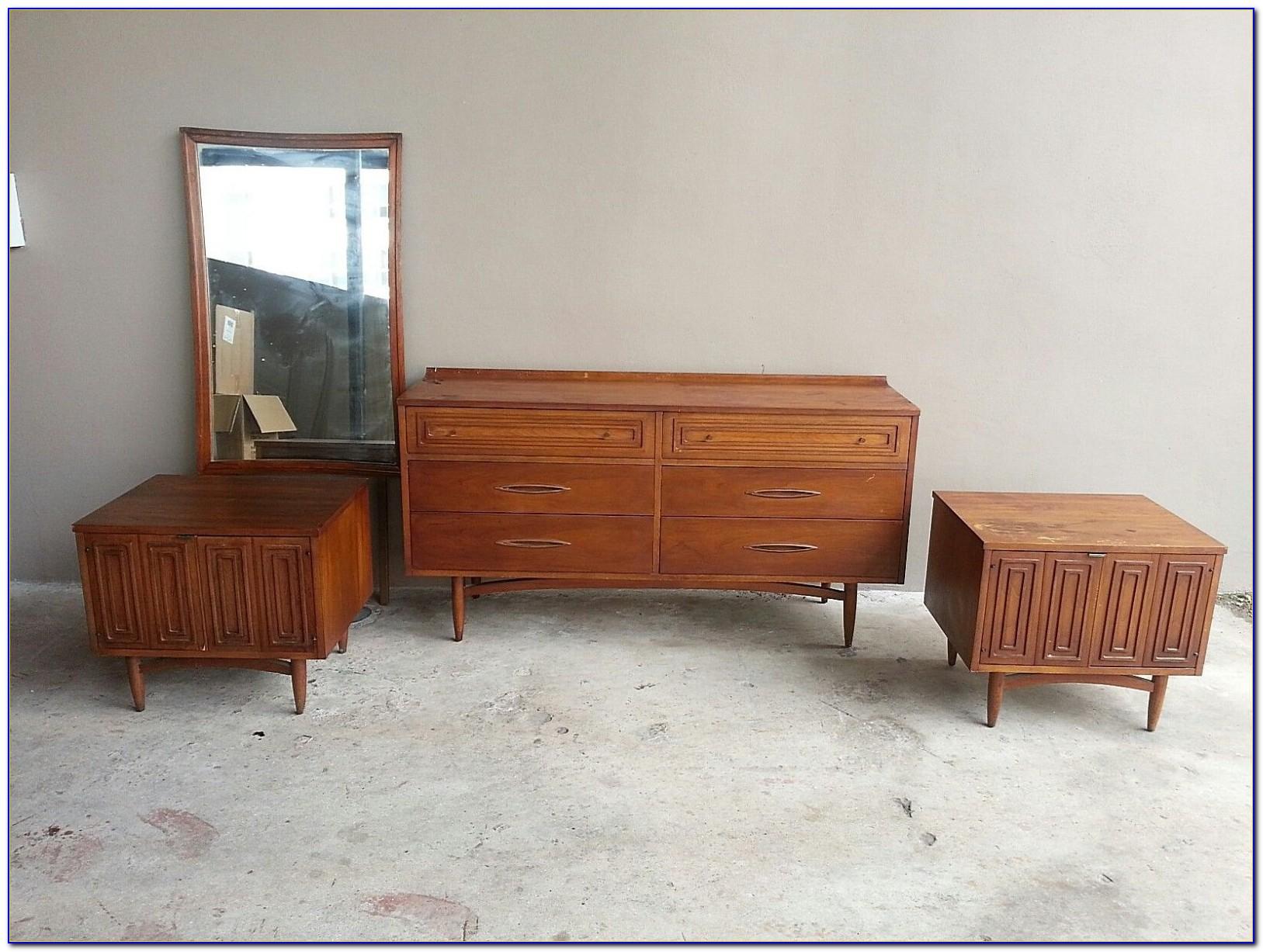 Danish Mid Century Modern Bedroom Set