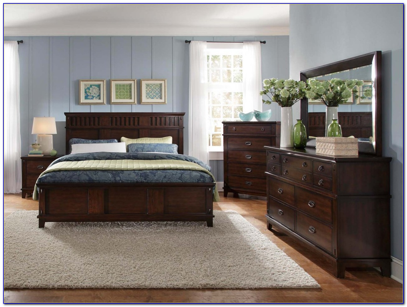 Dark Brown Bedroom Furniture Decorating Ideas