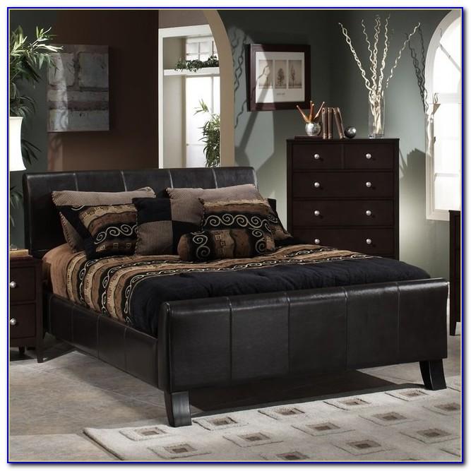Dark Brown Wicker Bedroom Furniture