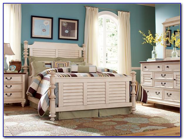 Distressed White Bedroom Furniture Modern
