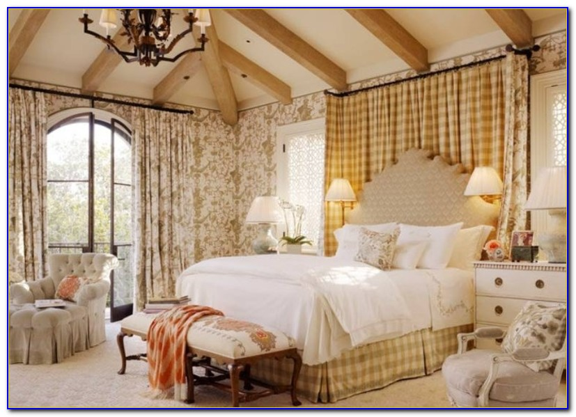 French Country Bedroom Set White