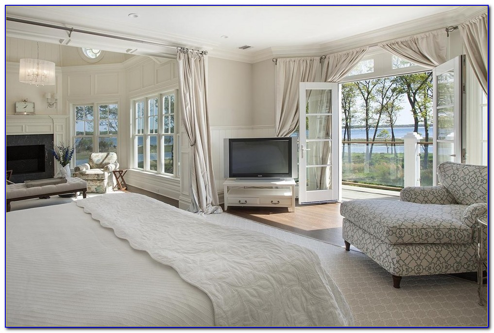 French Doors Bedroom Privacy