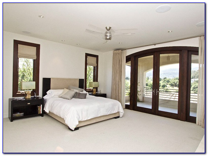 French Doors Between Bedrooms