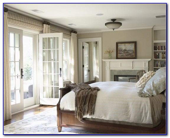 French Doors Off Bedroom