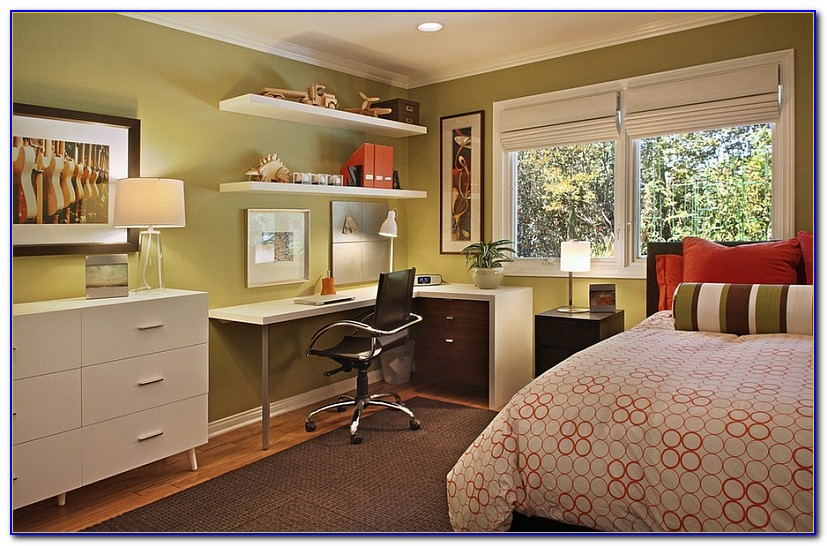 Home Office Spare Bedroom Design Ideas