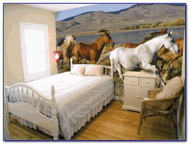 Horse Wallpaper For Bedrooms Uk