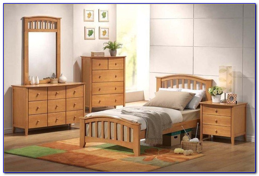 Ikea Light Wood Bedroom Set