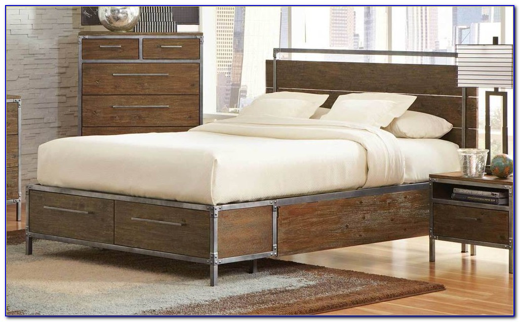 Industrial Style Bedroom Sets