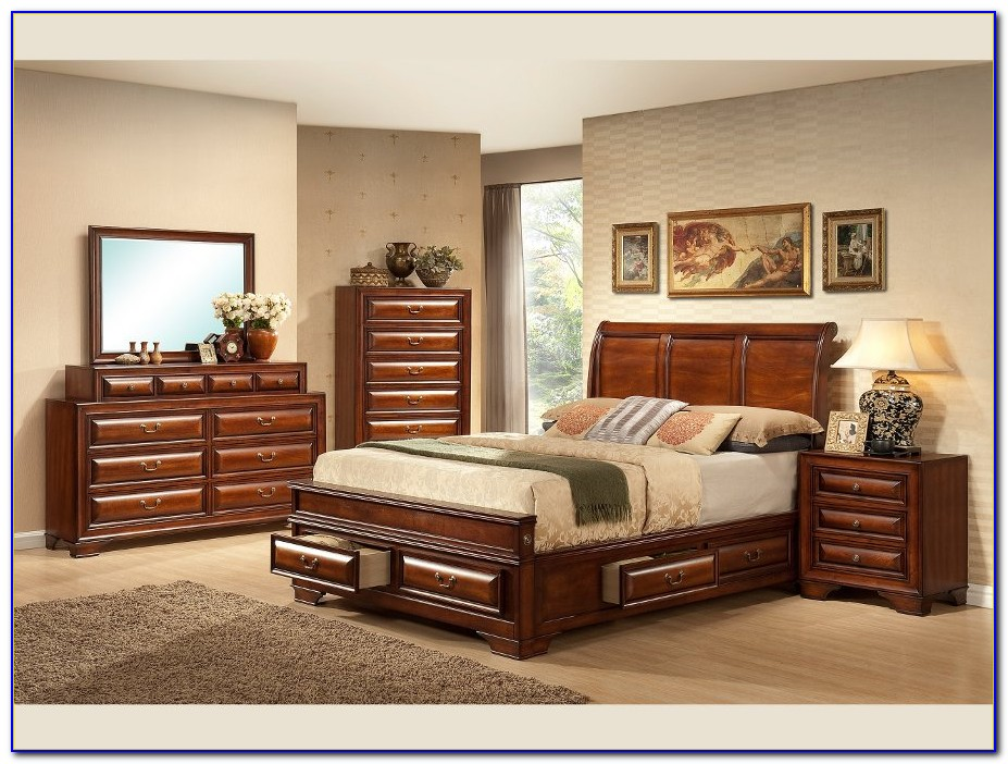 King Bedroom Set With Mattress