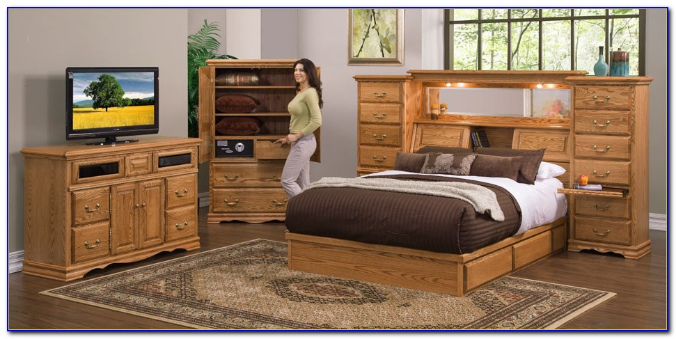 King Size Wall Unit Bedroom Sets
