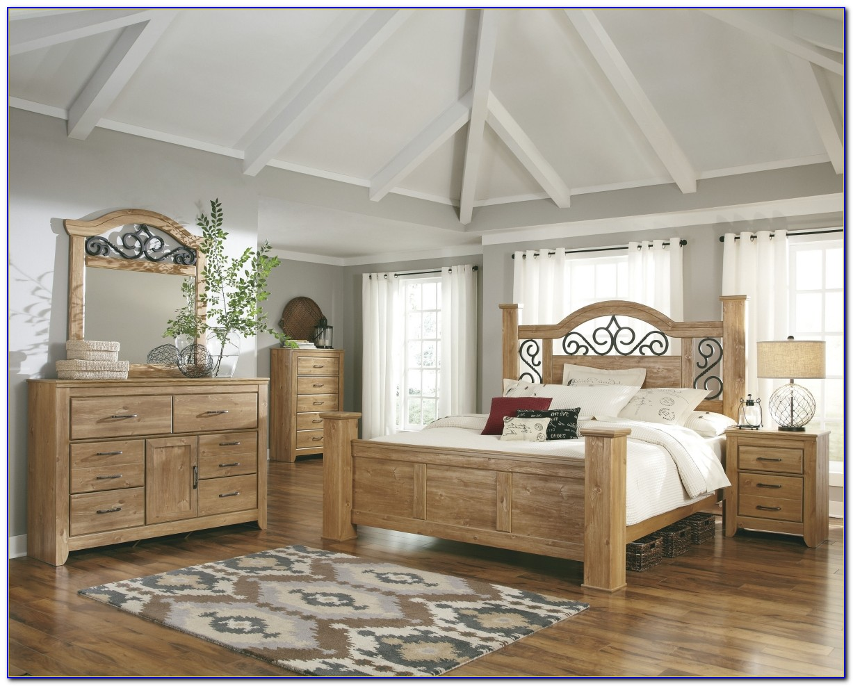 Light Wood Bedroom Furniture Contemporary