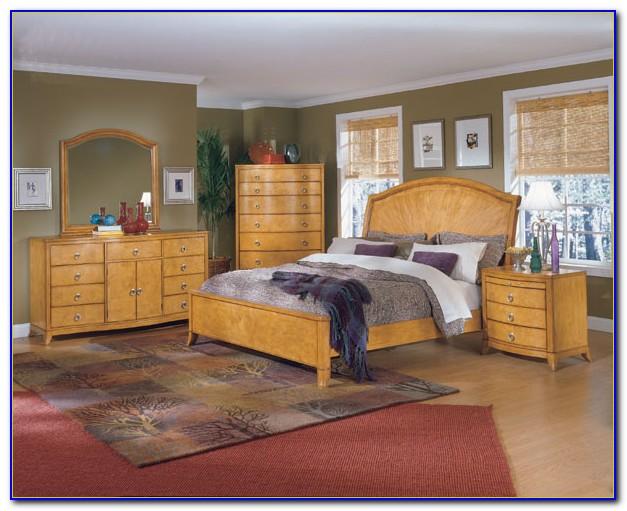 Light Wood Bedroom Furniture Decorating Ideas