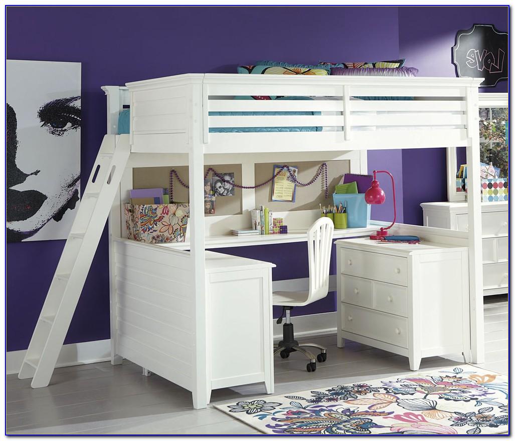 Loft Bedroom Set With Desk