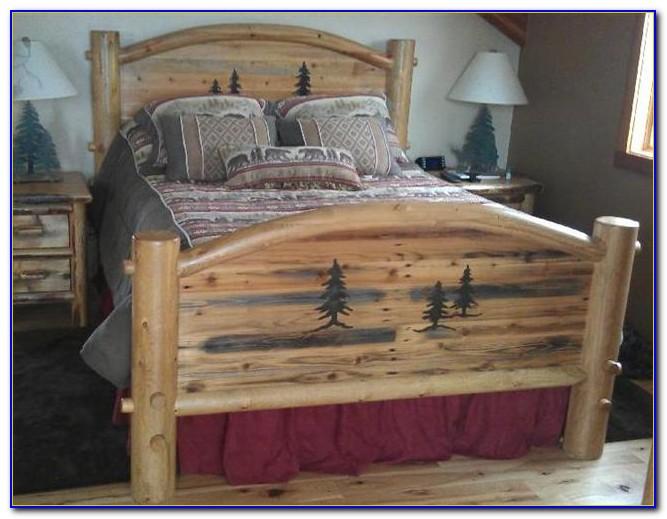 Log Cabin Bedroom Furniture Sets