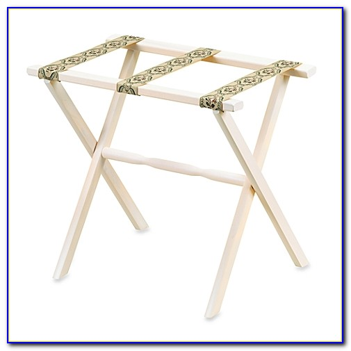Luggage Rack For Bedroom White