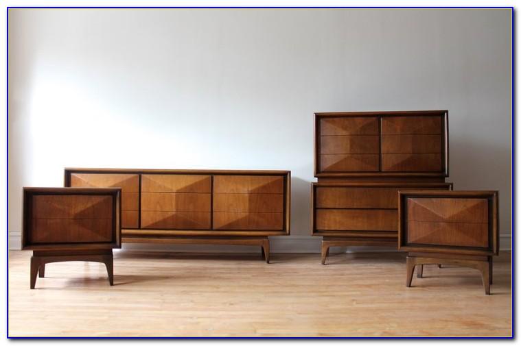 Mid Century Bedroom Furniture Set