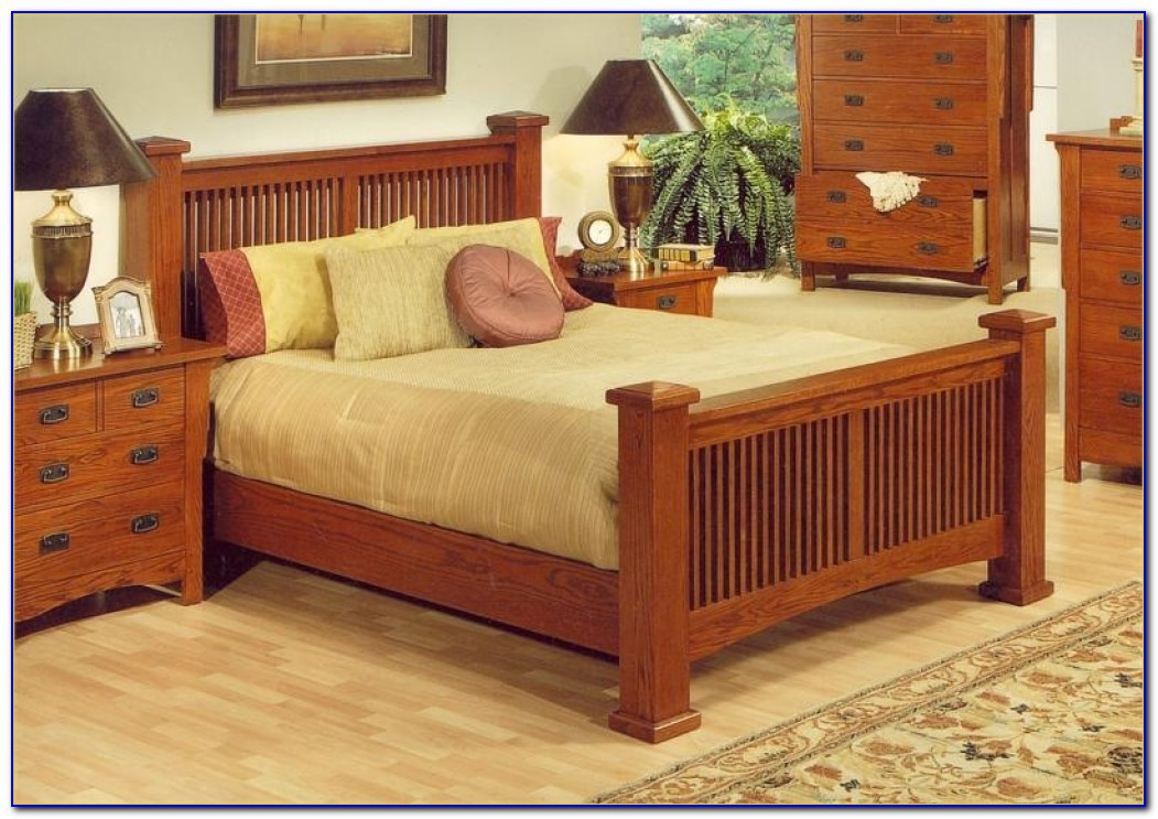 Mission Style Bedroom Furniture Cherry