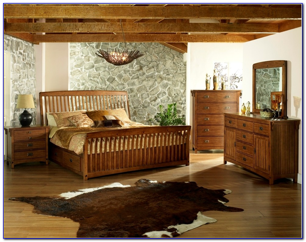 Mission Style Bedroom Furniture King