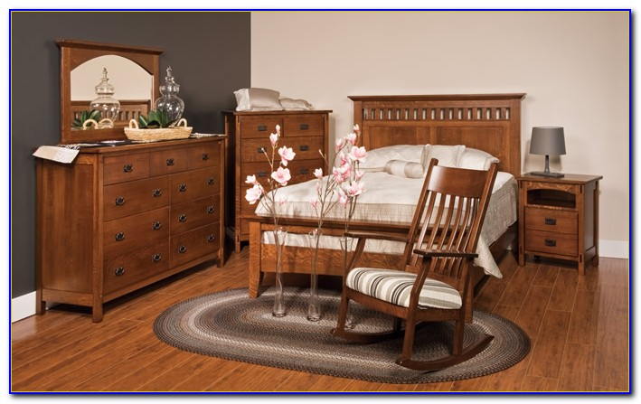 Mission Style Bedroom Set Plans