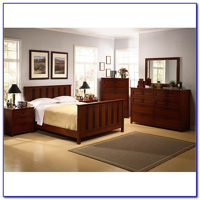 Mission Style Bedroom Set Queen