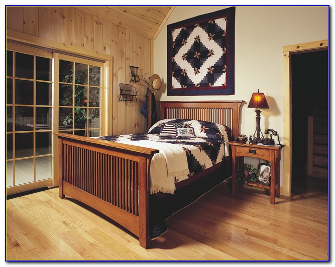 Mission Style Twin Bedroom Set