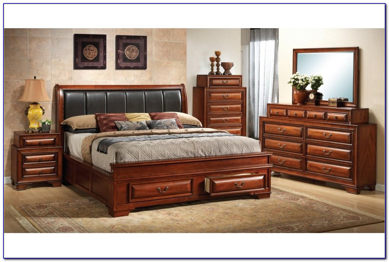 Modern Bedroom Set With Storage