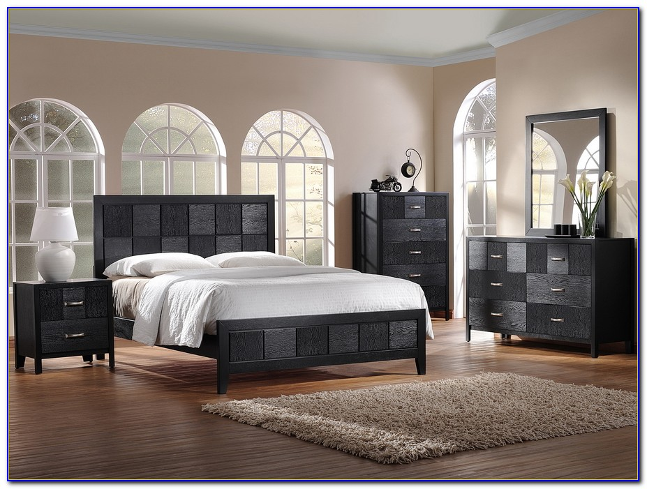 Modern Black And White Bedroom Furniture