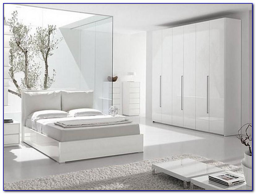 Modern White Gloss Bedroom Furniture