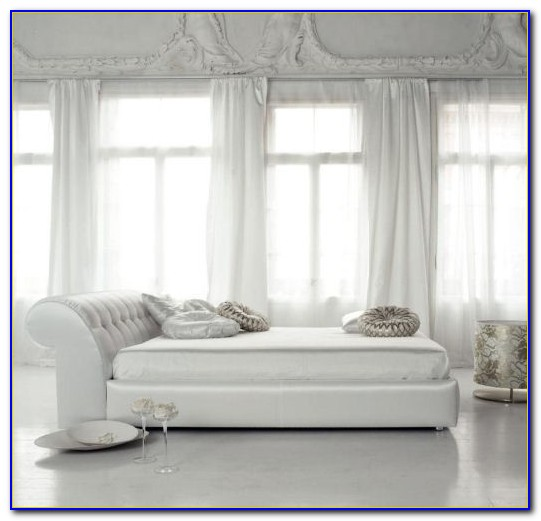 Modern White Leather Bedroom Furniture