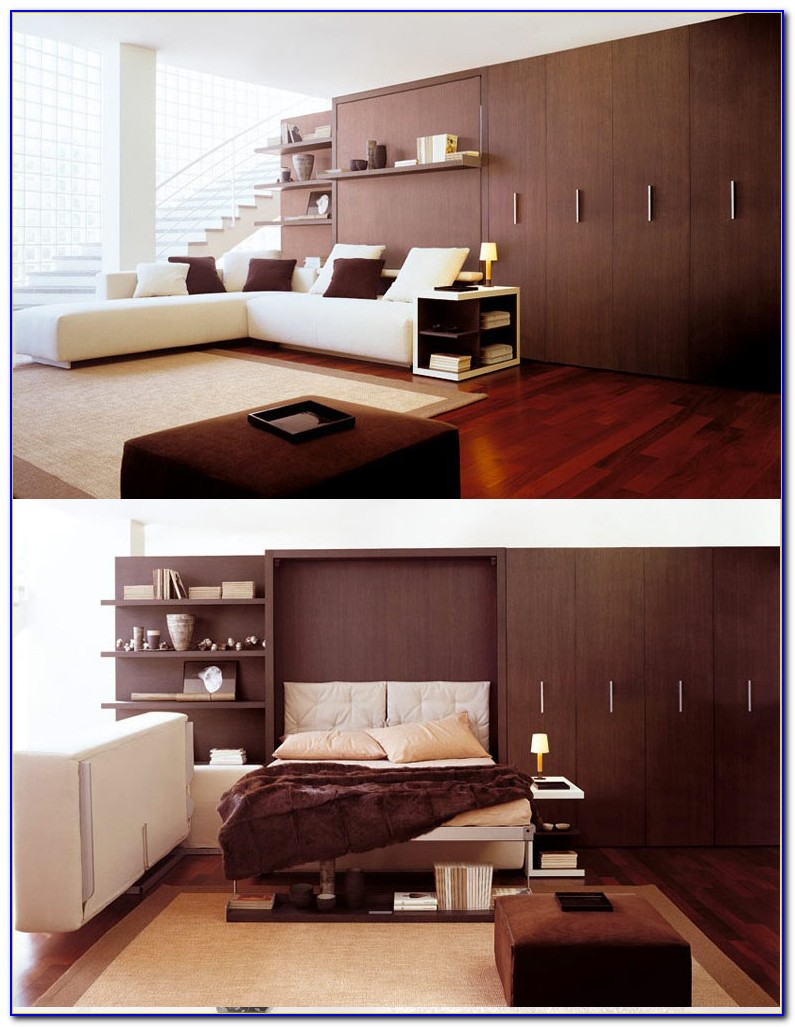 Multipurpose Bedroom Furniture For Small Spaces