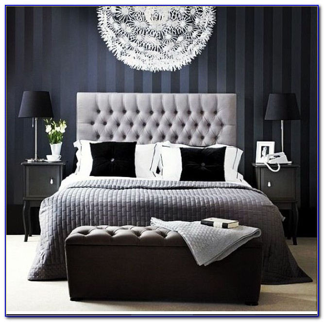 Navy And Gray Bedroom Ideas