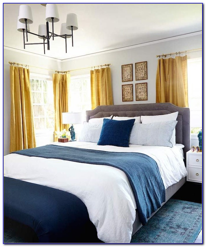 Navy Blue And Grey Bedroom Ideas
