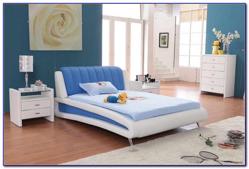 Navy Blue Bedroom Furniture Set