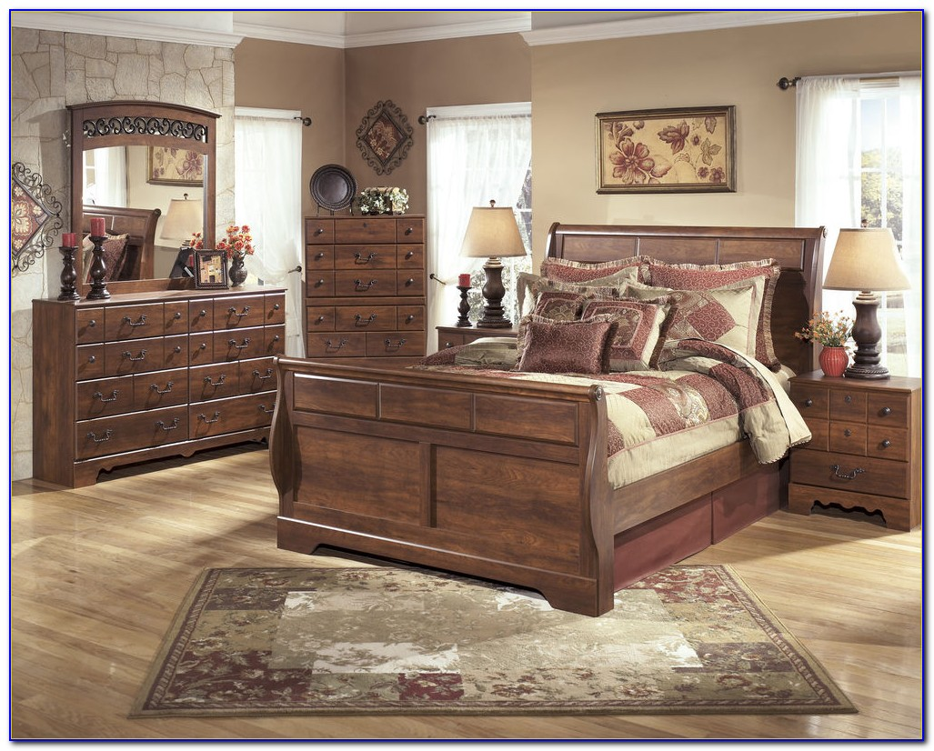 Porter Queen Sleigh Bedroom Set